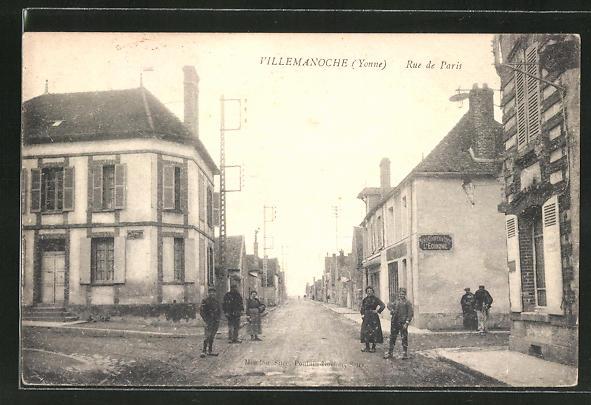 AK Villemanoche, Rue de Paris 0