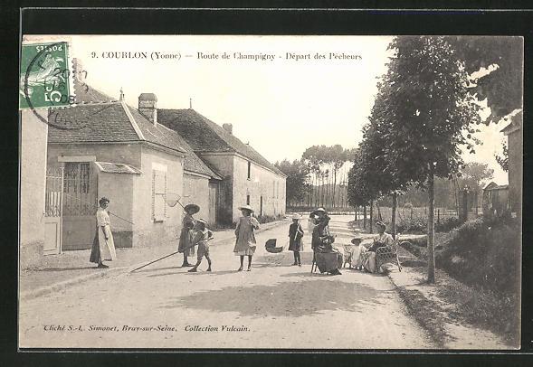 AK Courlon, Route de Champigny, Depart des Pecheurs 0