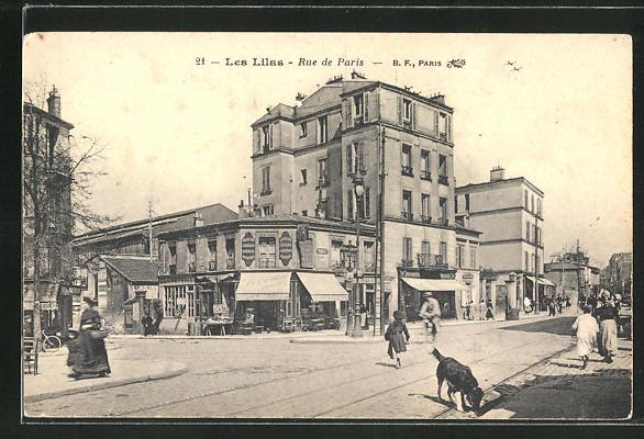 AK Les Lilas, Rue de Paris 0