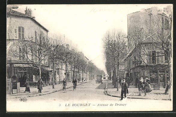 AK Le Bourget, Avenue de Drancy