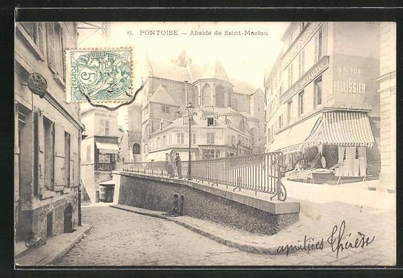 AK Pontoise, Abside de Saint-Maclou 0