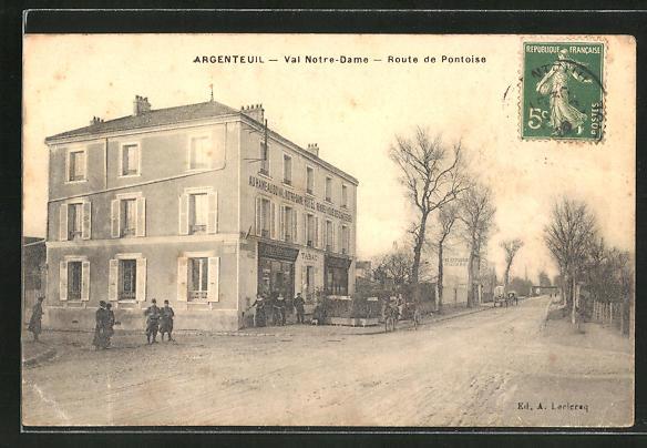 AK Argenteuil, Val Notre-Dame, Route de Pontoise