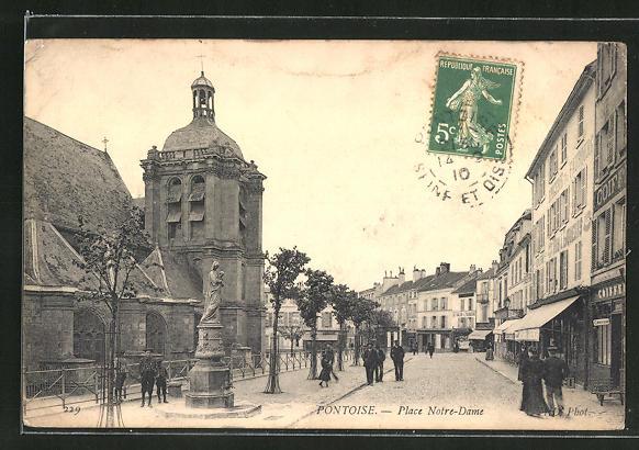 AK Pontoise, Place Notre-Dame 0