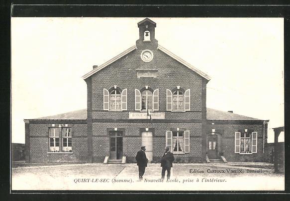 AK Quiry-Le-Sec, Nouvelle Ecole, prise á l'interieur 0