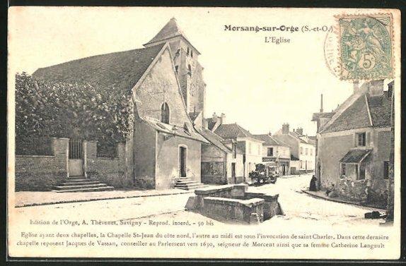 AK Morsang-sur-Orge, L'Eglise 0