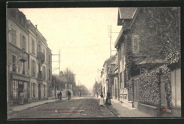 AK St-Cloud-Montretout, Rue de Nancy