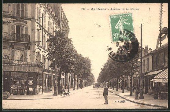 AK Asnieves, Avenue de la Marne 0
