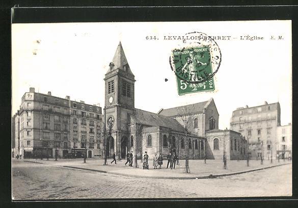AK Levallois-Perret, L'Eglise 0