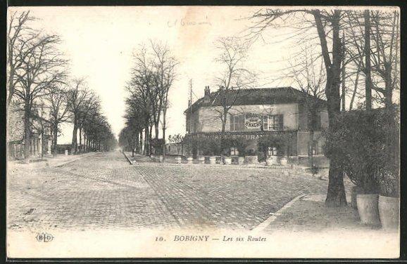 AK Bobigny, Les six Routes 0