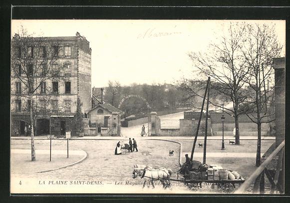 AK Plaine Saint-Denis, Les Magasins General 0