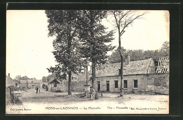 AK Mons-en-Laonnois, La Moncelle 0