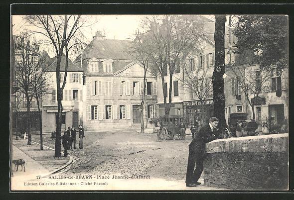 AK Salies-de-Bearn, Place Jeanne d'Albret 0