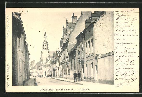 AK Montoire, Rue St-Laurent, La Mairie 0