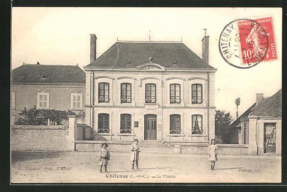 AK Chitenay, La Mairie