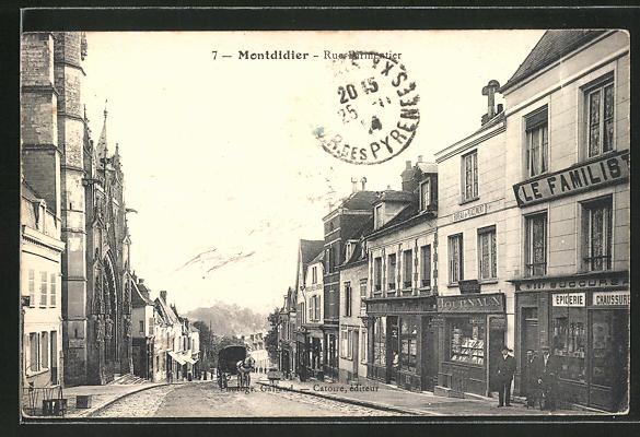 AK Montdidier, Rue Farmentier 0