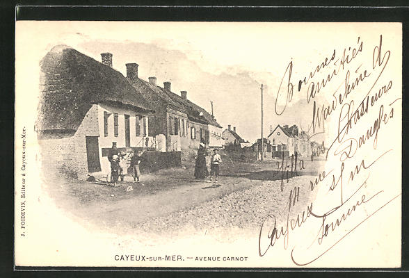 AK Cayeux-sur-Mer, Avenue Carnot 0