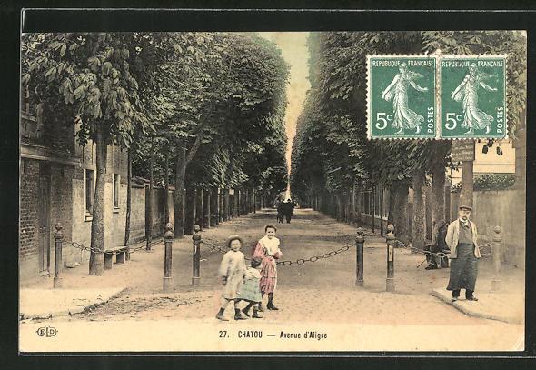 AK Chatou, Avenue d'Aligre 0