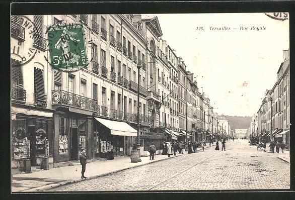 AK Versailles, Rue Royale 0