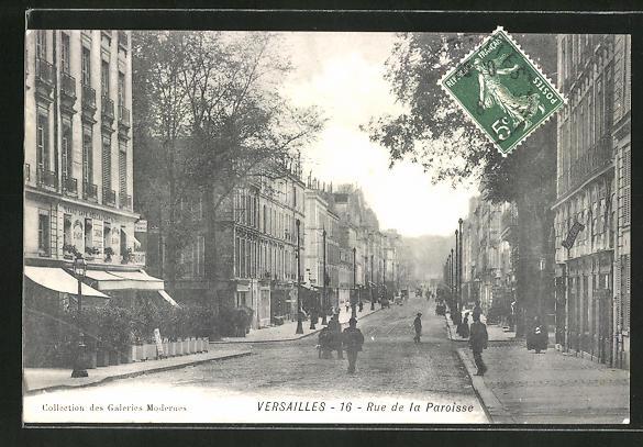 AK Versailles, Rue de la Paroisse 0