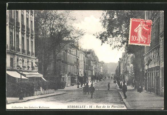 AK Versailles, Rue de la Paroisse