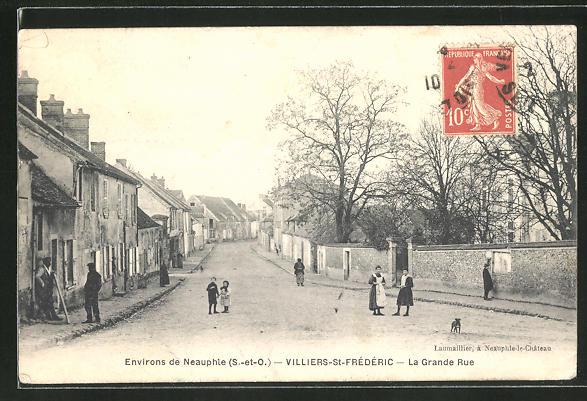 AK Villiers-St-Frederic, La Grande Rue 0
