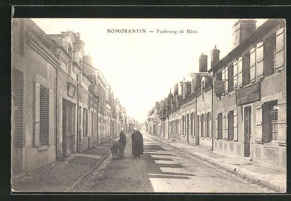 AK Romorantin, Faubourg de Blois 0