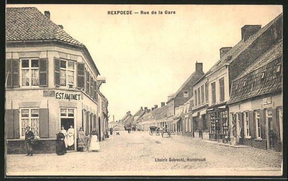 AK Rexpoede, Rue de la Gare 0