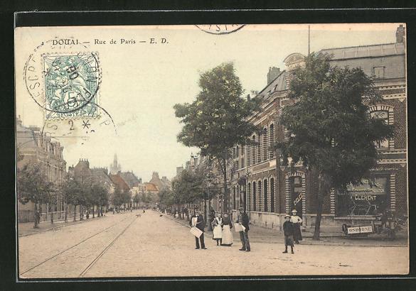 AK Douai, Rue de Paris 0