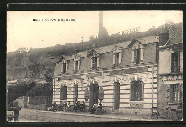 AK Rochecorbon / Indre et Loire, Hotel du Croissant 0