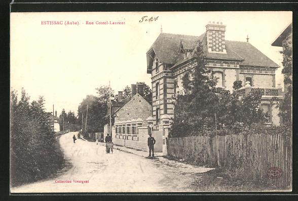 AK Estissac / Aube, Rue Costel-Laurent 0