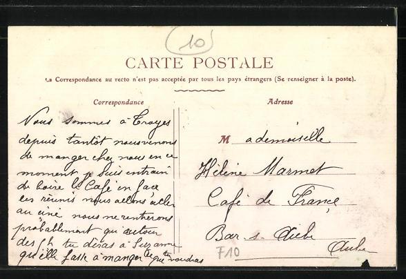 AK Troyes / Aube, Entrée du Mail des Charmilles 1