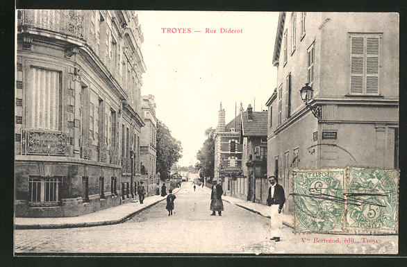 AK Troyes, Rue Diderot 0