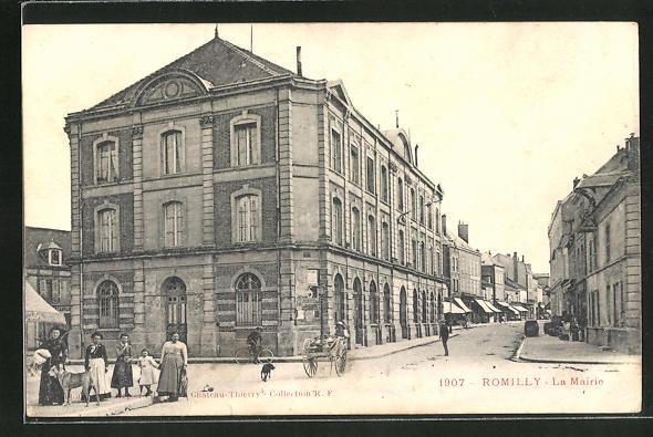 AK Romilly, La Mairie 0