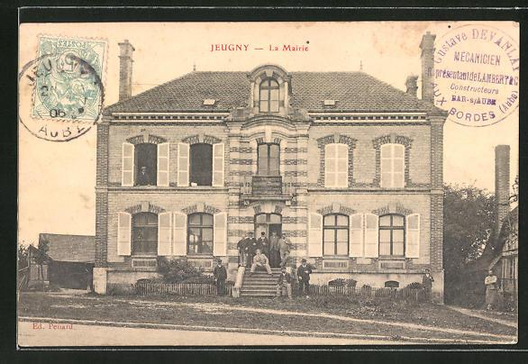 AK Jeugny, La Mairie 0