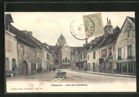 AK Chaource, Rue des Fontaines
