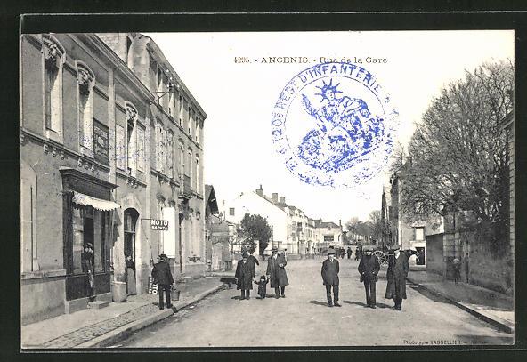 AK Ancenis, Rue de la Gare 0