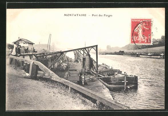 AK Montataire, Port des Forges 0