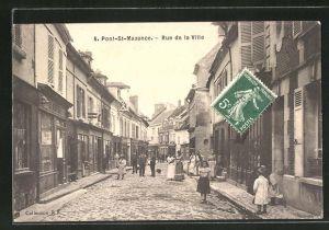 AK Pont-St-Maxence, Rue de la Ville