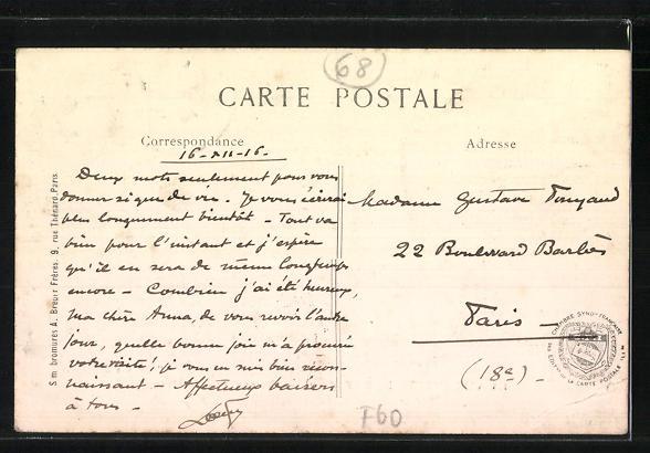 AK La Villeneuve-Le-Roy / Oise, Bureau Téléphonique 1