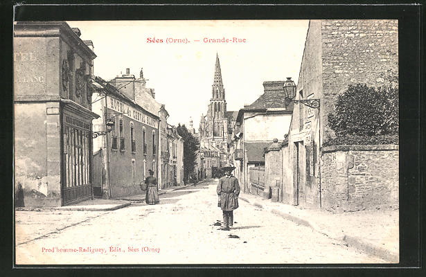 AK Sées / Orne, Grande Rue 0