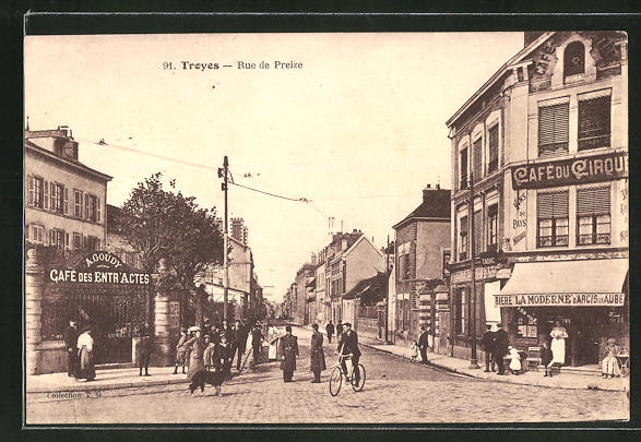 AK Troyes, Rue de Preize 0
