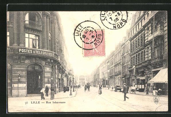 AK Lille, Rue Inkermann 0