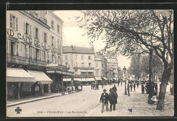 AK Perigueux, Les Boulevards 0