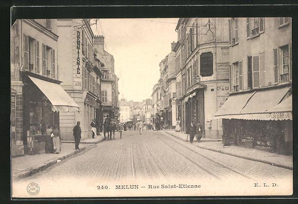 AK Melun, Rue Saint-Etienne 0