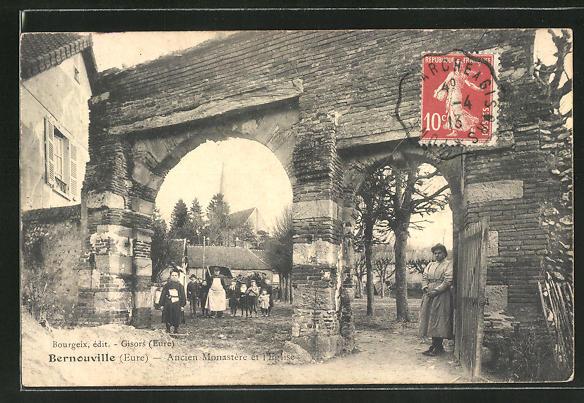 AK Bernouville, Ancien Monastère et l'Eglise 0
