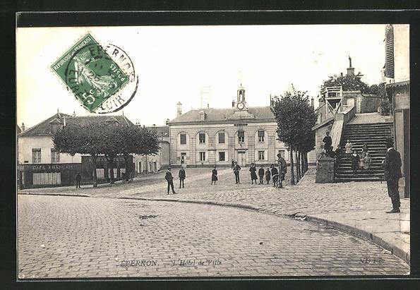 AK Épernon, L'Hotel de Ville, Rathaus 0