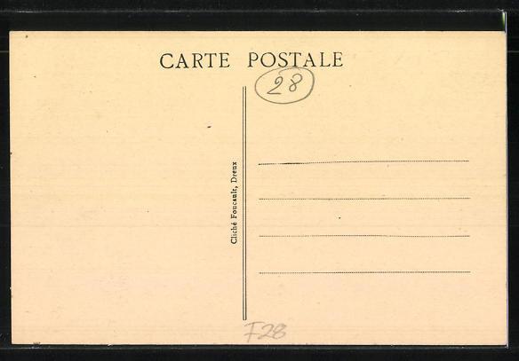 AK Broué, Cafe de la Poste, La Rue Principale 1