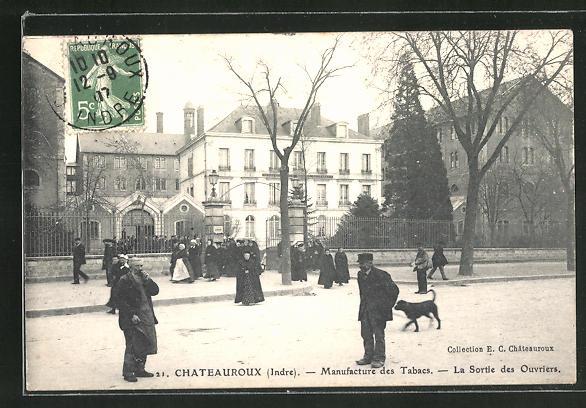 AK Chateauroux, Manufacture des Tabacs, La Sortie des Ouvriers 0