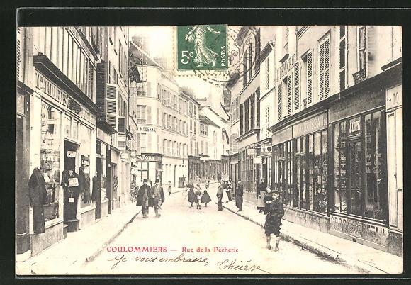 AK Coulommiers, Rue de la Pecherie 0