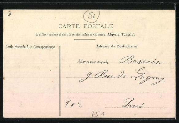 AK Saint-Martin-d'Ablois, Mairie, Hotel de Paris und Rathaus 1